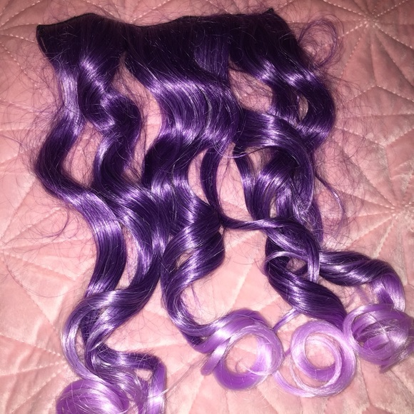 Accessories Purple To Lavender Ombr Hair Extension Poshmark